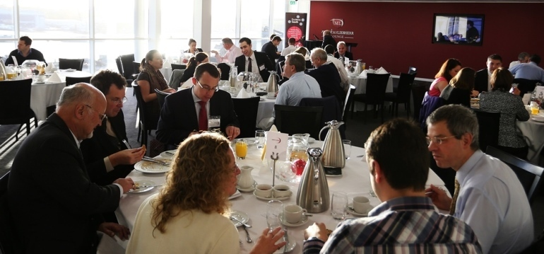 <p>GOR Business Breakfast at St. Mary&rsquo;s Stadium, home of Southampton FC</p>